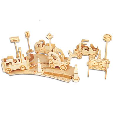 Puzzle Zestaw DIY Klocki Zabawki 3D Zabawka edukacyjna Puzzle Drewniane puzzle Cegiełki DIY Zabawki Znane budynki Chińska architektura 1