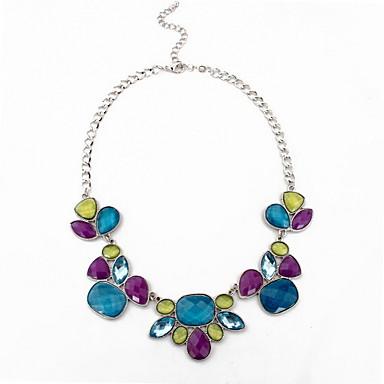 Kadın Tellerinin Kolye Mücevher Mücevher Değerli Taş alaşım Moda Kişiselleştirilmiş Euramerican Avrupa Mücevher UyumlulukParti Özel Anlar