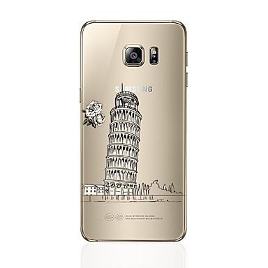 غطاء من أجل Samsung Galaxy S7 edge S7 شفاف نموذج غطاء خلفي مع إطلالة على المدينة ناعم TPU إلى S7 edge S7 S6 edge plus S6 edge S6 S5 S4