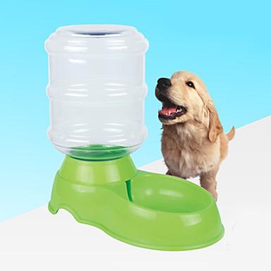 Σκύλος Μπολ & Μπουκάλια Νερού Κατοικίδια Μπολ & Διατροφή Αντανακλαστικό Πορτοκαλί Κόκκινο Πράσινο Μπλε