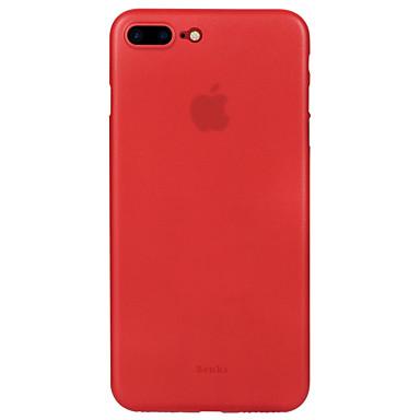 Varten Ultraohut Himmeä Etui Takakuori Etui Yksivärinen Kova PC varten AppleiPhone 7 Plus iPhone 7 iPhone 6s Plus iPhone 6 Plus iPhone 6s