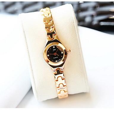 Γυναικεία Μοδάτο Ρολόι Προσομοίωσης Ρόμβος Ρολόι Χαλαζίας κράμα Μπάντα Απίθανο Καθημερινά Χρυσό Τριανταφυλλί