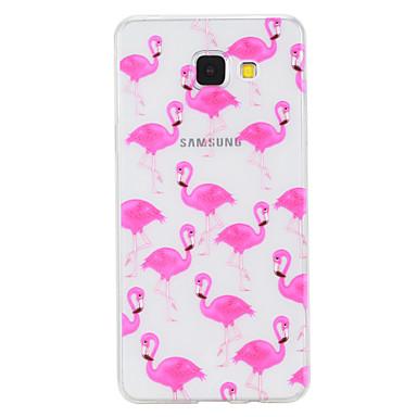 Maska Pentru Samsung Galaxy A5(2017) A3(2017) Transparent Model Capac Spate Animal Moale TPU pentru A3 (2017) A5 (2017) A5(2016) A3(2016)