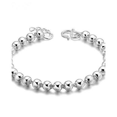 Zincir & Halka Bileklikler Moda Değerli Taş Gümüş Kaplama Mücevher Mücevher Uyumluluk Doğumgünü Yılbaşı Hediyeleri