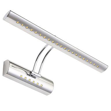 Max 5 w modern çağdaş led duvar ışık banyo aynası washroon duvar lambası armatürleri paslanmaz çelik