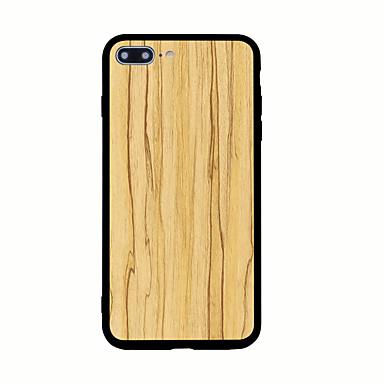غطاء من أجل Apple نموذج غطاء خلفي خشب قاسي أكريليك(Acrylic) إلى iPhone 7 Plus iPhone 7 iPhone 6s Plus iPhone 6 Plus iPhone 6s iPhone 6