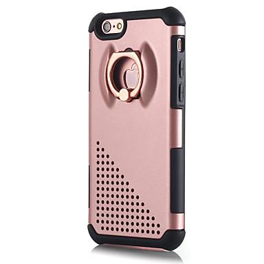 Pentru Suport Inel Maska Carcasă Spate Maska Culoare solida Greu PC pentru Apple iPhone 7 Plus iPhone 7 iPhone 6s Plus/6 Plus iPhone 6s/6