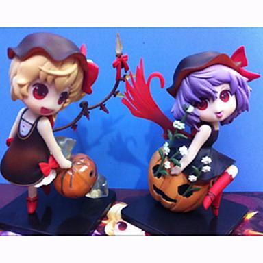 Rysunki Anime akcji Zainspirowany przez Touhou Project Flandre Scarlet PVC 12 CM Klocki Lalka Zabawka