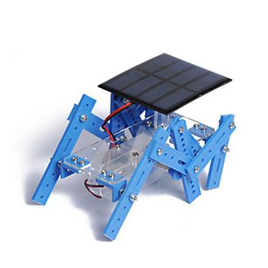 Robotti Aurinkoenergialla toimivat lelut Pienoismallisetit Lelut Ompelukone Robotti Aurikoladattava Erikois DIY Koulutus Muovi Metalli