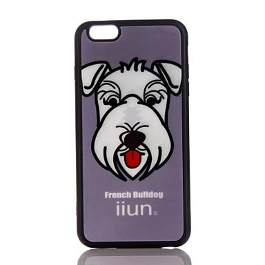 غطاء من أجل Apple نحيف جداً غطاء خلفي كلب ناعم TPU إلى فون 7 زائد فون 7 iPhone 6s Plus iPhone 6 Plus iPhone 6s أيفون 6