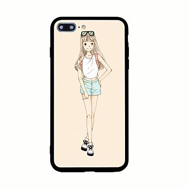 Για Με σχέδια tok Πίσω Κάλυμμα tok Σέξι κυρία Σκληρή Ακρυλικό για AppleiPhone 7 Plus iPhone 7 iPhone 6s Plus iPhone 6 Plus iPhone 6s