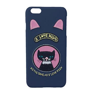 Pentru Model Maska Carcasă Spate Maska Pisica Greu Textil pentru Apple iPhone 7 Plus iPhone 7