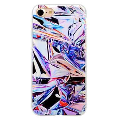 Maska Pentru Apple IMD Carcasă Spate Model Geometric Moale TPU pentru iPhone 7 Plus iPhone 7 iPhone 6s Plus iPhone 6 Plus iPhone 6s