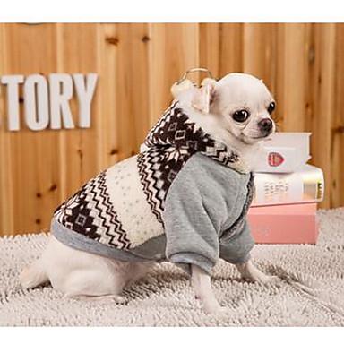 Σκύλος Φορέματα Ρούχα για σκύλους Αναπνέει Καθημερινά Αθλήματα Βρετανικό Γκρίζο Στολές Για κατοικίδια