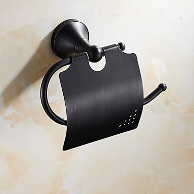 Uchwyt na papier toaletowy Antyczny Mosiądz 1 szt. - Kąpiel w hotelu