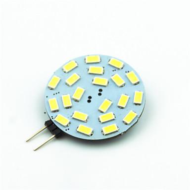 1pc 3W 250 lm G4 LED Bi-pin Işıklar T led SMD 5730 Dekorotif Sıcak Beyaz Serin Beyaz 7000K AC 12V