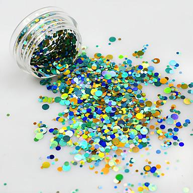 1bottle Biżuteria do paznokci Glitter i Poudre Inne dekoracje Błyskotki Modny Słodkie Ślub Wysoka jakość Codzienny