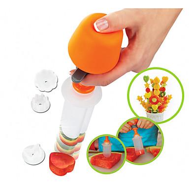 Plastický DIY Mold Tvůrčí kuchyně Gadget Kuchyňské náčiní u ovoce