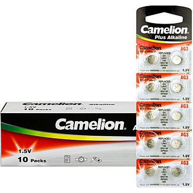 Camelion ag3 moneta guzikowe baterie alkaliczne 1.5V 100 sztuk