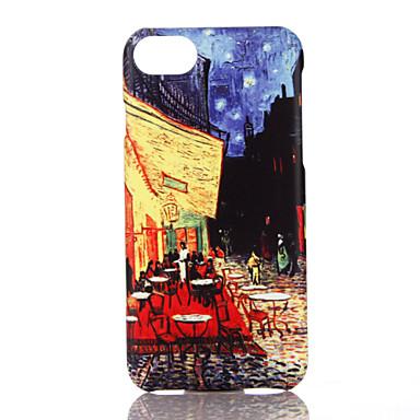 Pouzdro Uyumluluk Apple iPhone 7 Plus iPhone 7 Ultra İnce Temalı Arka Kapak Şehir Manzaralı Sert PC için iPhone 7 Plus iPhone 7 iPhone 6s