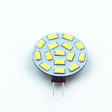 1szt 1W 200 lm G4 Żarówki LED bi-pin T 15 Diody lED SMD 5730 Dekoracyjna Ciepła biel Zimna biel AC 12V
