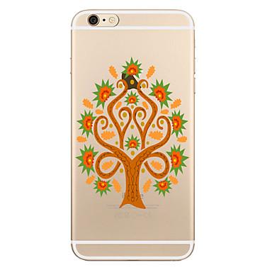tok Για Apple iPhone X iPhone 8 Plus Διαφανής Με σχέδια Πίσω Κάλυμμα Δέντρο Μαλακή TPU για iPhone X iPhone 8 Plus iPhone 8 iPhone 7 Plus