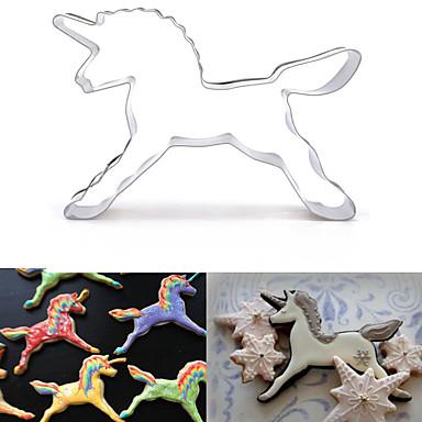 Bakeware araçları Paslanmaz Çelik 3D Karikatür / Yaratıcı Mutfak Gadget / Kendin-Yap Kek / Kurabiye / Candy Hayvan Kurabiye Kesicileri 1pc