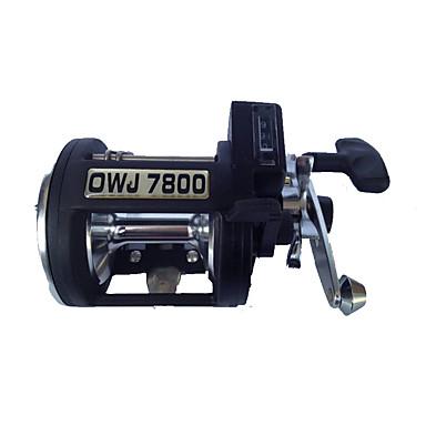 Fishing Reels بكرات الصنارة 4.5:1 3 الكرة كراسى أيمن الصيد البحري - OWJ7800AL