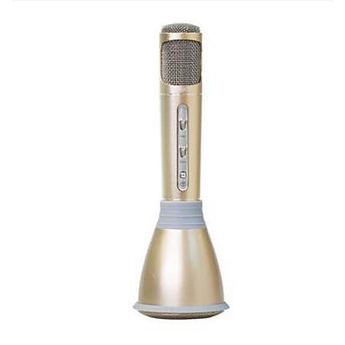 K068 Langaton Karaoke-mikrofoni USB Musta Pinkki