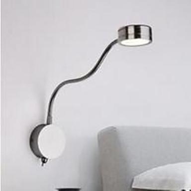 Duvar ışığı Ortam Işığı Duvar lambaları 3W 110-120V 220-240V Birleştirilmiş LED Modern/Çağdaş Krom