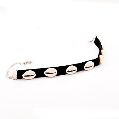 Kadın Gerdanlıklar Mücevher Mücevher Deniz Kabuğu Kumaş Kabuk minimalist tarzı Avrupa Moda Kişiselleştirilmiş Euramerican Mücevher