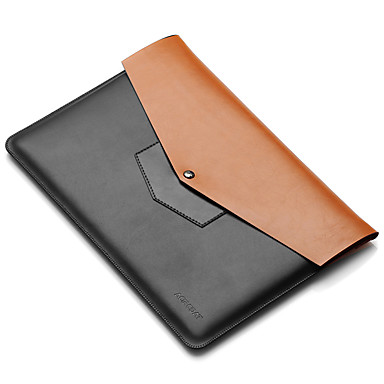 Μανίκια για MacBook Air 11 ιντσών Macbook Συμπαγές Χρώμα PU Δέρμα Υλικό
