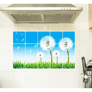 Botanic Modă Timp Liber Perete Postituri Autocolante perete plane Autocolante de Perete Decorative,Hârtie Material Pagina de decorarede