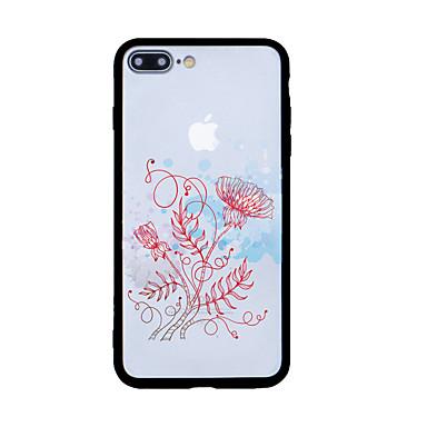 Για Με σχέδια tok Πίσω Κάλυμμα tok Λουλούδι Σκληρή Ακρυλικό για Apple iPhone 7 Plus iPhone 7 iPhone 6s Plus iPhone 6s iPhone SE/5s