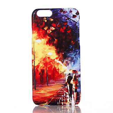 Na Ultra cienkie Wzór Kılıf Etui na tył Kılıf Widok miasta Twarde PC na Apple iPhone 7 Plus iPhone 7 iPhone 6s Plus/6 Plus iPhone 6s/6