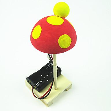 مجموعات البناء ألعاب العلوم و الاكتشاف ألعاب دائري فطر اصنع بنفسك خشب بلاستيك معدن 1 قطع