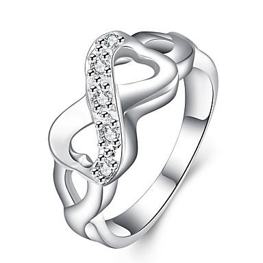 Dames Ring Sieraden Uniek ontwerp Koper Oneindigheid Sieraden Feest Kantoor / Formeel Dagelijks