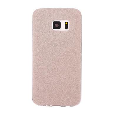 Maska Pentru Samsung Galaxy S7 edge S7 Mătuit Capac Spate Luciu Strălucire Moale TPU pentru S7 edge S7 S6 edge plus S6 edge S6