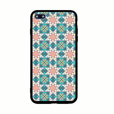 Kılıf Na Apple Wzór Etui na tył Geometryczny wzór Twarde Akrylowy na iPhone 7 Plus iPhone 7 iPhone 6s Plus iPhone 6 Plus iPhone 6s iPhone