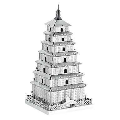 Puzzle 3D Puzzle Puzzle Metal Μοντέλα και κιτ δόμησης Reparații Turn Clădire celebru Arhitectura Chineză Arhitectură 3D Pentru copii Cadou