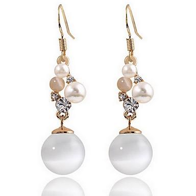 Γυναικεία Κουμπωτά Σκουλαρίκια απομιμήσεις Opal Φύση Μοντέρνα Ευρωπαϊκό Μαργαριτάρι Οπάλιο Κράμα Κοσμήματα Κοσμήματα Για Καθημερινά