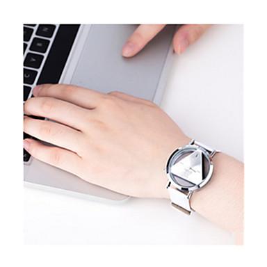 Kadın's Spor Saat / Dijital saat Büyük indirim / / Deri Bant Vintage Siyah / Beyaz / Gümüş