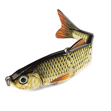 2pcs τεμ Minnow Atrăgătoare Pescuit Minnow Πλαστική ύλη Γενικό Ψάρεμα