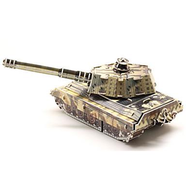 لعبة سيارات أحجار البناء قطع تركيب3D تركيب ألعاب دبابة 3D الأطفال 1 قطع