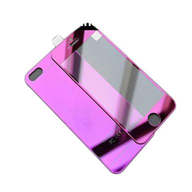 spiegel kleur plating bescherming tegen explosie glas film (voor en achter) voor de iPhone 6s / 6