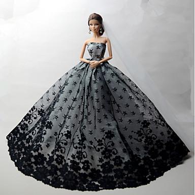 af06daf666e1 Πάρτι   Απόγευμα Φορέματα Για Barbiedoll Δαντέλα   Organza Φόρεμα Για Κορίτσια  κούκλα παιχνιδιών 5625235 2019 – €8.39
