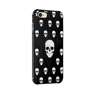 Maska Pentru Apple iPhone X iPhone 8 Anti Șoc Model Capac Spate Cranii Moale Silicon pentru iPhone X iPhone 8 Plus iPhone 8 iPhone 7 Plus