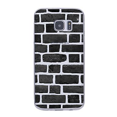 tok Για Samsung Galaxy S7 edge S7 Εξαιρετικά λεπτή Με σχέδια Πίσω Κάλυμμα Γεωμετρικά σχήματα Μαλακή TPU για S7 edge S7 S6 edge plus S6