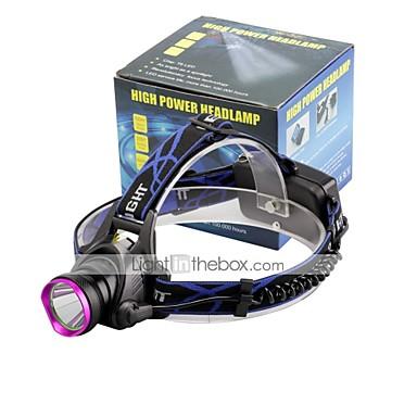 U'King Otsalamput Ajovalo LED 2000 lm 3 Tila Cree XM-L T6 Zoomable Säädettävä fokus Kompakti koko Helppo kantaa High Power Monikäyttö