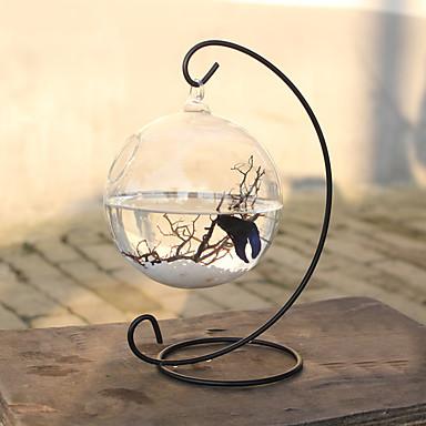 أحواض السمك الصغيرة الزخارف زجاج